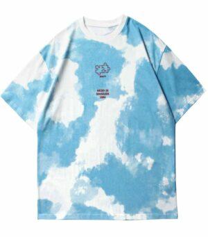 Dragon Tshirt Puzzle Tie Dye