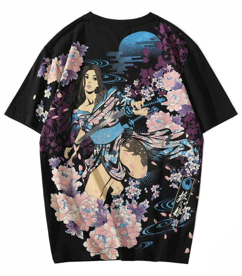 Dragon Tshirt Sakura Original Oriental Art