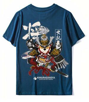 Dragon Tshirt Shiba Cotton Biological