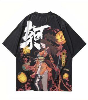 Dragon Tshirt Shinobi Style