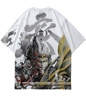 Dragon Tshirt Sun Sukong Streetwear Art