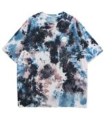 Dragon Tshirt Blue Tie Dye Design