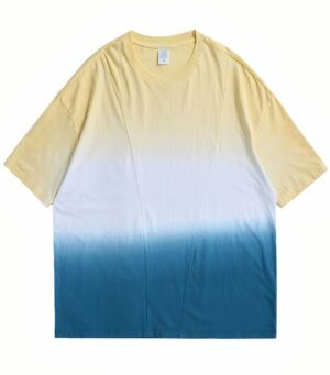Dragon Tshirt Progressive Tie Dye Design