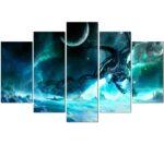 Moonlight Style Dragon Painting Wall Art