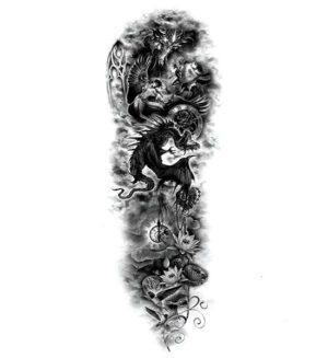 Dragon Ephemeral Tattoo Humanity