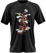Dragon Tshirt Oriental Design