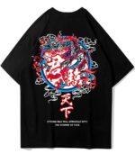 Dragon Tshirt Divine Chinese Style Organic Cotton