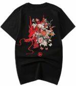 Dragon Tshirt Scarlet Style Art Organic Cotton