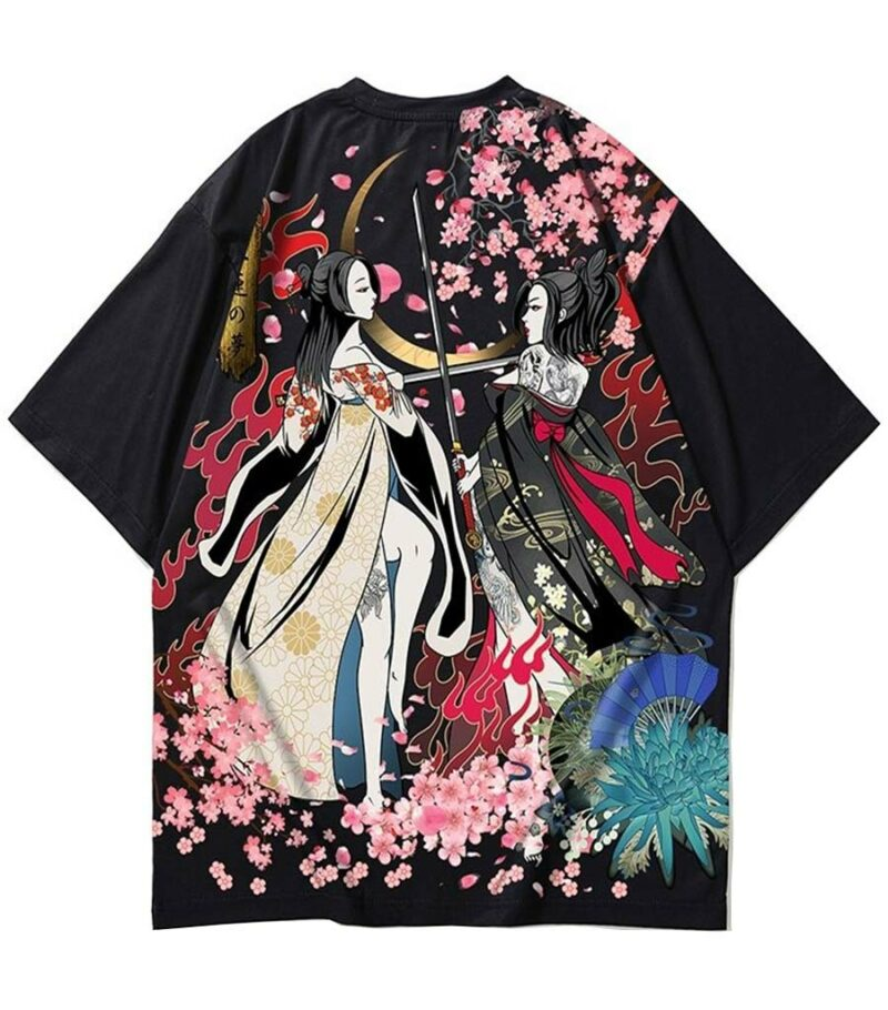 Dragon Tshirt Duelist Streetwear Japanese