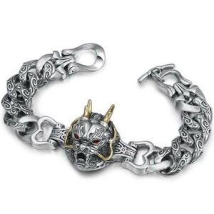 Bracelet Dragon Head Silver
