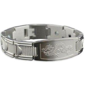 Kenji Dragon Bracelet (Steel)