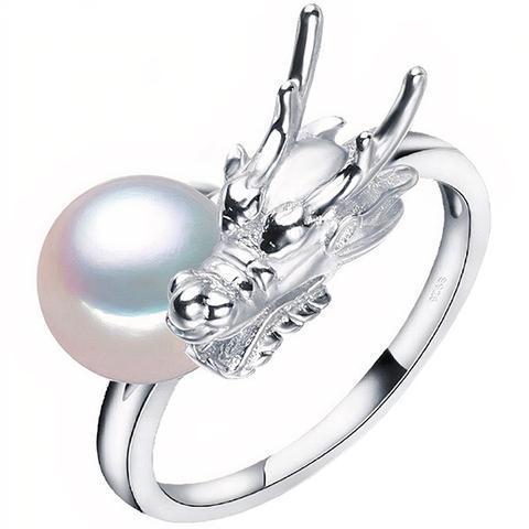 Dragon Fire Ball Ring