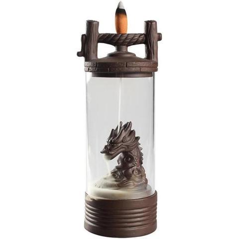Vertical Backflow Dragon Incense Burner