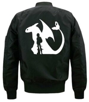 Dragon Jacket Toothless Cotton Polyester