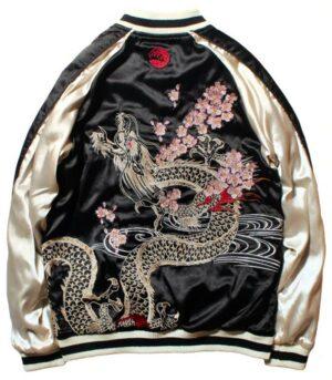 Dragon Jacket Japanese Culture Art