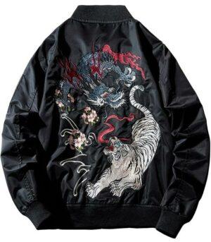 Dragon Jacket Tiger Polyester