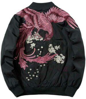 Dragon Jacket Phoenix Polyester