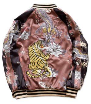 Dragon Jacket Tiger Female Polyester